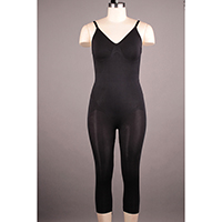 Seamless Shaping Bodysuit with Long Leg